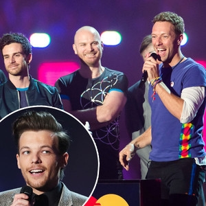 Louis Tomlinson, Chris Martin, Coldplay